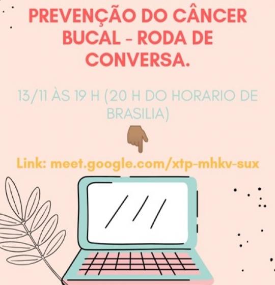 Curso de Odontologia da Faculdade Ágora realiza roda de conversa sobre prevenção e diagnóstico do câncer bucal.